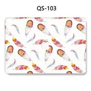 Image 3 - ノートブック MacBook ノートパソコンの新ケース Macbook Air のプロ網膜 11 12 13.3 15.4 インチスクリーンプロテクターキーボード入り江