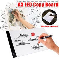 Digital Drawing Tablets A3 LED Artist Thin Stencil Graphic Drawing Board Light Box Tracing Table Pad LED Painting Board Pad