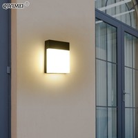 LED Wall Lamp Bedroom Beside Light Home 12W 18W Lighting Corridor warm white light and Cool white light outdoor fixtures