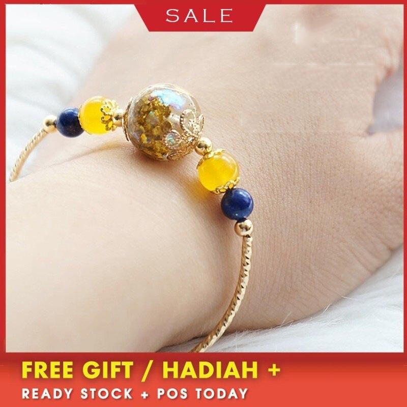 Bracelet Orgonite radioprotection or cristal ouvert Chakra naturel Reiki Bracelet Yoga bijoux processus résine