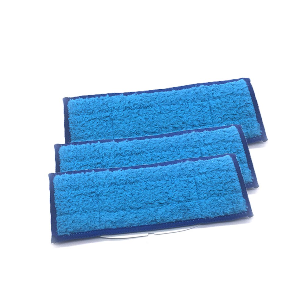 3PCS/SET Mopping Cloths Microfiber Mopping Cloths Washable & Reusable Mop Pads Suitable For iRobot Braava jet 240 2413PCS/SET Mopping Cloths Microfiber Mopping Cloths Washable & Reusable Mop Pads Suitable For iRobot Braava jet 240 241