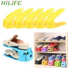 Storage Shoe-Organizer Wardrobe Space-Saving Adjustable HILIFE 5pcs/Set