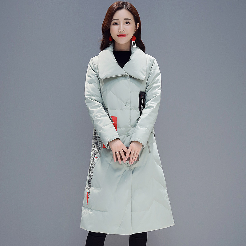 White D'hiver L'ukraine Vintage A601 Épais Femme Canard Parka Long Tops Vêtements green De Manteau Veste Casual Blanc 2018 Chaud Femmes Duvet 1ISqIHp