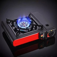Portable Outdoor Picnic Pot Convenient Gas Stove for Camping Hiking Picnic Camping Stove Set Picnic Applicable