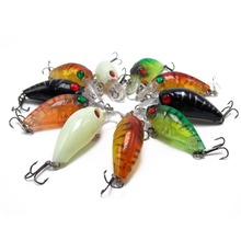 CATCHSIF 10pcs Tiny Surface Plugs topwater 4g Hard crankbaits fishing Lure tackle Box
