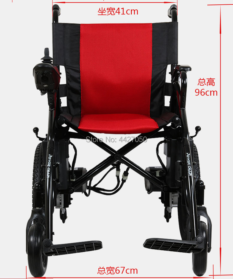 2019 free shipping automatic intelligent foldable portable electric font b wheelchair b font for the elderly