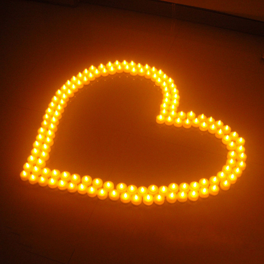 10pcs Christmas LED Tealight Tea Candle Battery Light Xmas Party Wedding Home Decoration