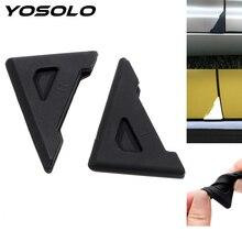 YOSOLO 2 шт./компл. силиконовые Auto Care бампер аварии от царапин, полироль для автомобиля, угловой двери обложка аварии Защита от царапин