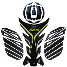 FASP genuine carbon fiber Z900 Z650 motorcycle dedicated 3D Tank Pad decal sticker emblem protection cap