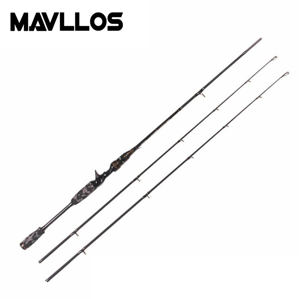 Mavllos Saltwater Carbon Fishing Rod 1.8M M&MH Pole Tip Lure Weight 7-21g/8-30g Fast 8-17lb Ultralight Spinning Casting Rod