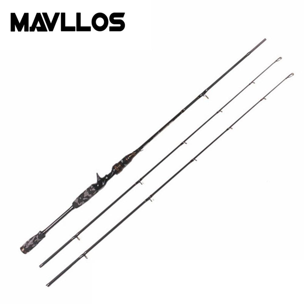 Mavllos Saltwater Carbon Fishing Rod 1.8M M&MH Pole Tip Lure Weight 7-21g/8-30g Fast 8-17lb Ultralight Spinning Casting Rod катушка индуктивности mundorf m coil bv transformer core bt140 8 2 mh 1 40 mm