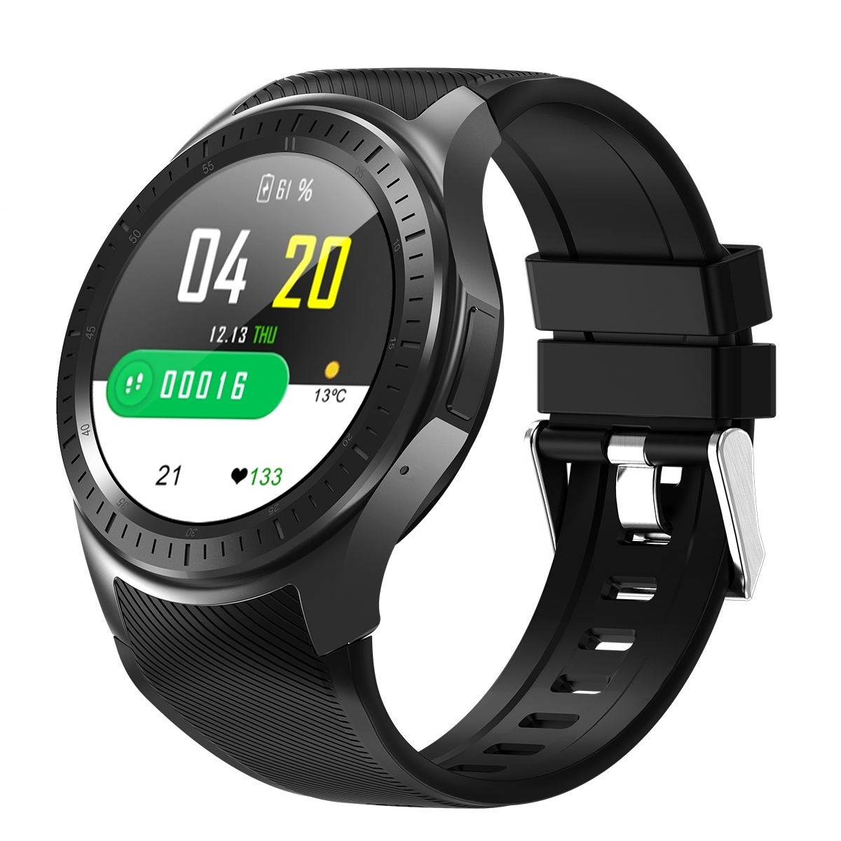 Dm368 Plus <font><b>Smart</b></font> <font><b>Watch</b></font> Bluetooth Smartwatch 4G <font><b>Mt6739</b></font> Android 5.1 Quad Core Wristwatch With Heart Rate Gps Wifi image
