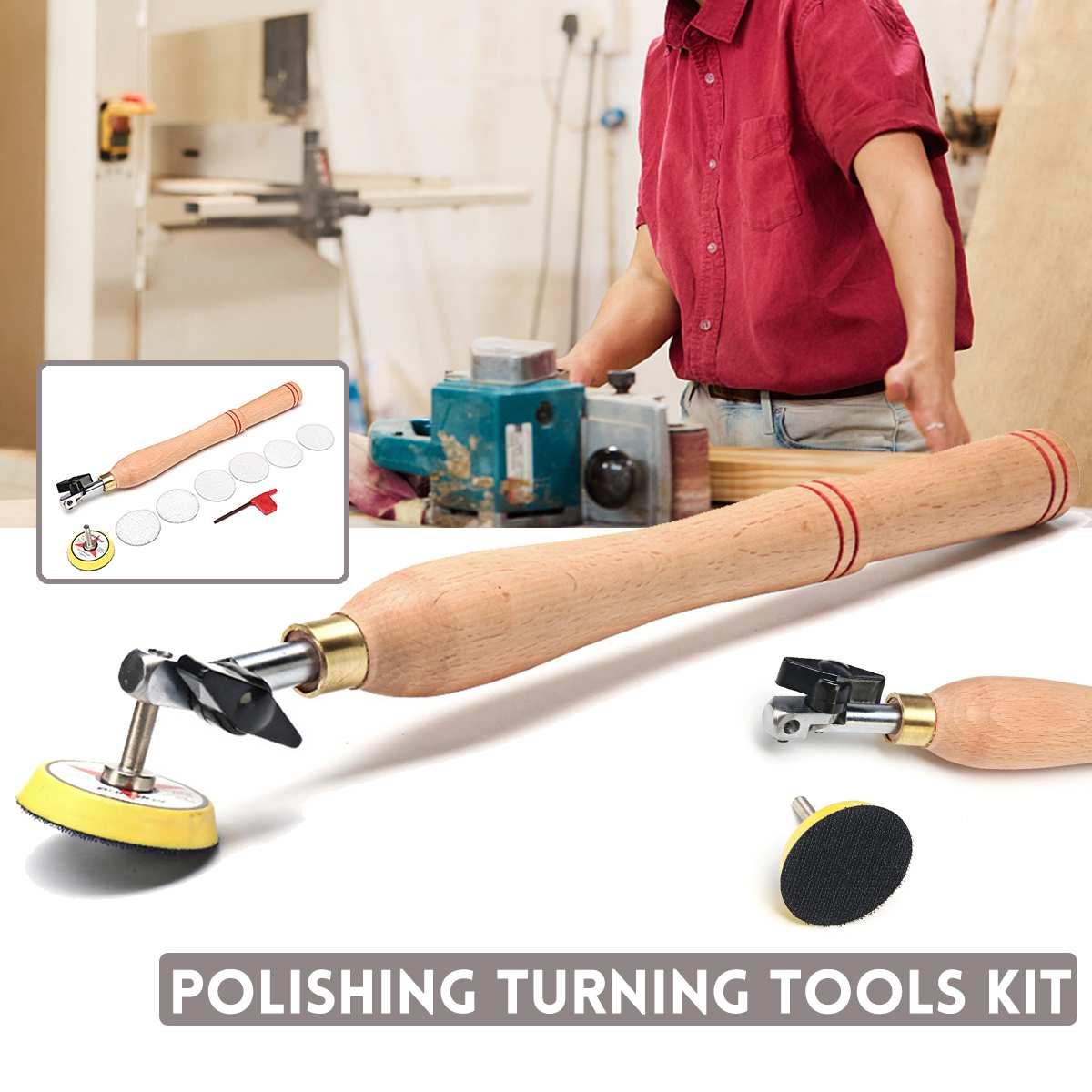 Деревянная чаша шлифовальный инструмент с шлифовальным диском для токарного станка инструменты для токарной обработки древесины Деревообработка