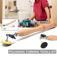 Wood Bowl Sander Sanding Tool with Sanding Disc for Lathe Wood Turning Tool Woodworking