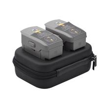 HOBBYINRC Dual Double Battery Storage Bag Box Case Battery Organizer for DJI MAVIC 2 PRO/MAVIC 2 ZOOM Drone Travel Outdoor RC