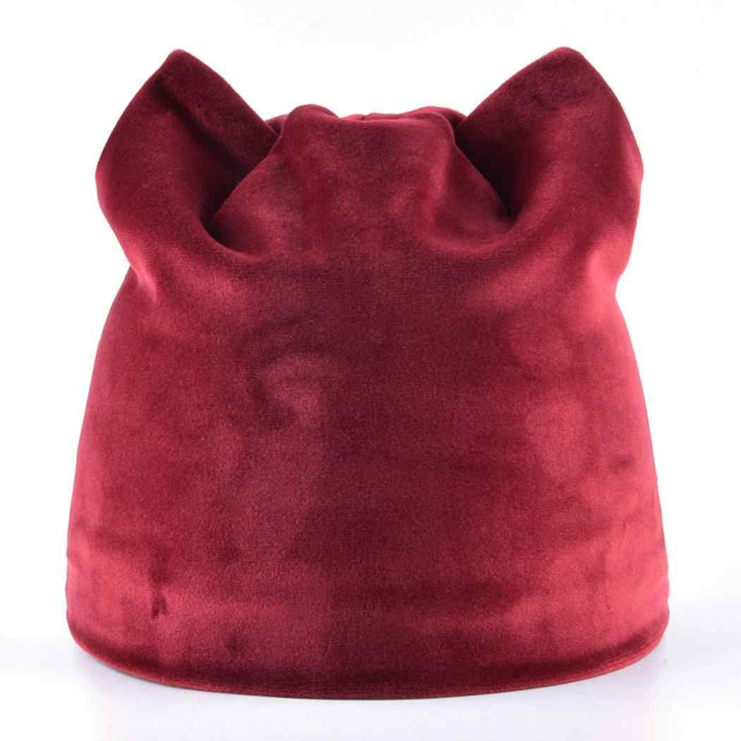 4ae8ea66f72 Detail Feedback Questions about Women red only Hats Winter Soft ...