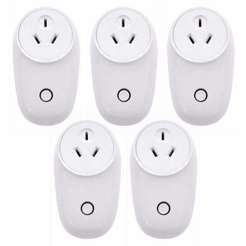 Electrical Equipments & Supplies 1/2/5pcs Mayitr Wifi Smart Power Electric Socket Wireless Remote Timer Au Plug Adapter Panel Power Sockets