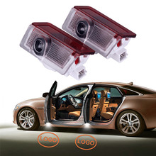 2pcs LED Car Door Light for Mercedes Benz W212 W211 W207 W164 W166 Auto Laser Projector Emblem Welcome Ambient Lamp Accessories for mercedes benz gle m class w163 w164 w166 car interior ambient light car inside cool strip light optic fiber band