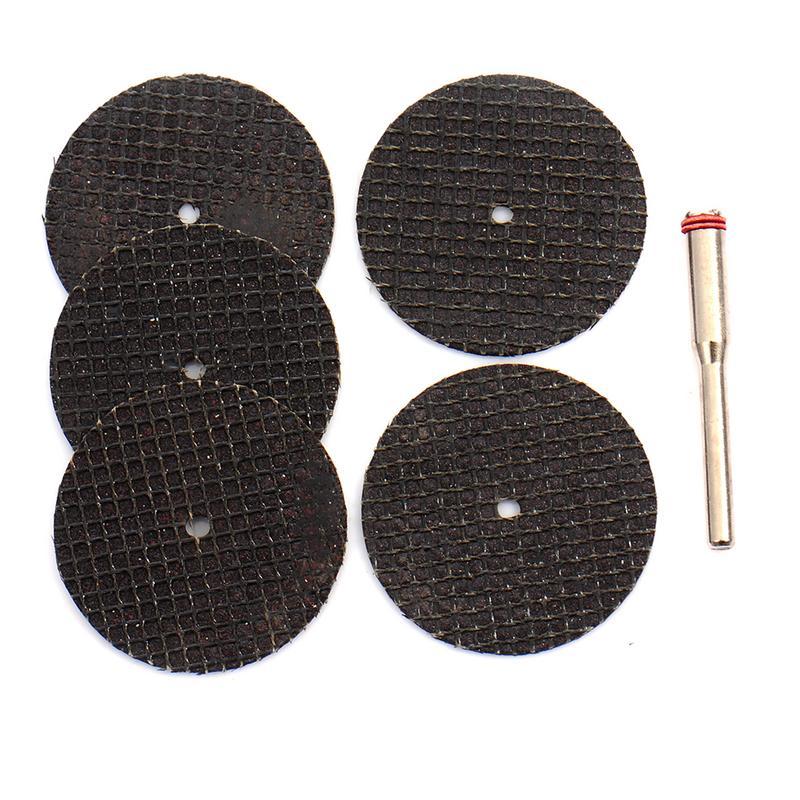 5pcs Cutting Disc Tool For Cutting Stone Diamond Abrasives Rotary Tool Circular Saw Blades Diamond Grinding Wheel With Pole