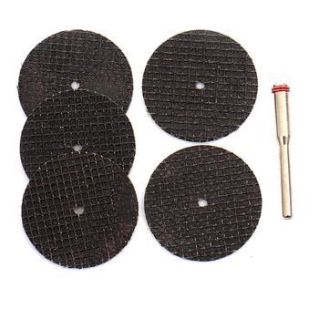 цена на 5pcs Cutting Disc Tool for Cutting Stone Diamond Abrasives Rotary Tool Circular Saw Blades Diamond Grinding Wheel with Pole