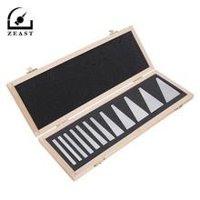 Новые 12 шт прецизионные Угловые блоки набор от 1/4 до 30 градусов манометр фрезерный станок токарные инструменты