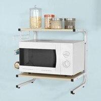 SoBuy FRG092 N Kitchen Appliances Shelf Microwave Storage Seasoning tank Rack