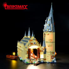BriksMax Led Light Up Kit For Hogwarts Great Hall Bricks Model Lighting Set Compatible With 75954 (NOT Include Model) цена