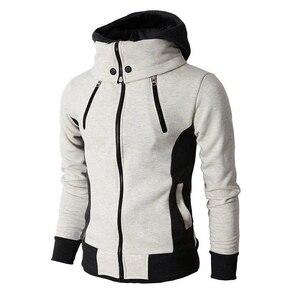 Image 2 - ผู้ชายเสื้อกันหนาว Hooded Sweatshirt Hoodie Coat เสื้อนอก Fleeces