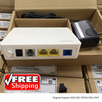 Free Shipping Huawei HG8120C 1GE+1FE +1PORT Fiber Optic ONU ONT Gpon Modem VIOP Huawei Fiber Optic Router