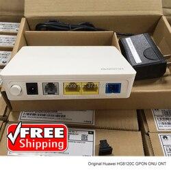 Frete grátis huawei hg8120c 1ge + 1fe 1 porta de fibra óptica onu ont gpon modem viop huawei roteador de fibra óptica
