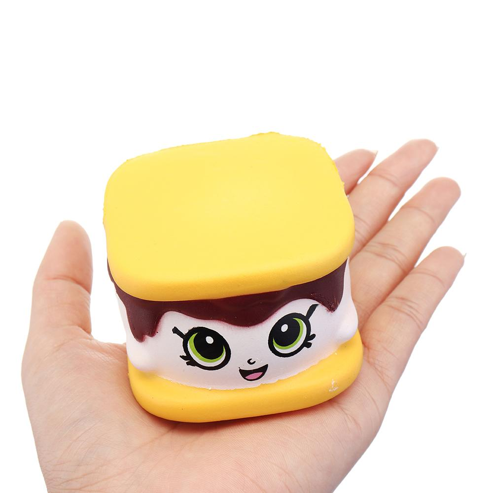 Reliable Leory Squishiestoys Cookie Boy Biscuit Cute Slow Rising Rebound Gift Decor Fun Toys Kids Adult Slimetoy Anti Cellphones & Telecommunications Mobile Phone Straps stress Relief Clear And Distinctive