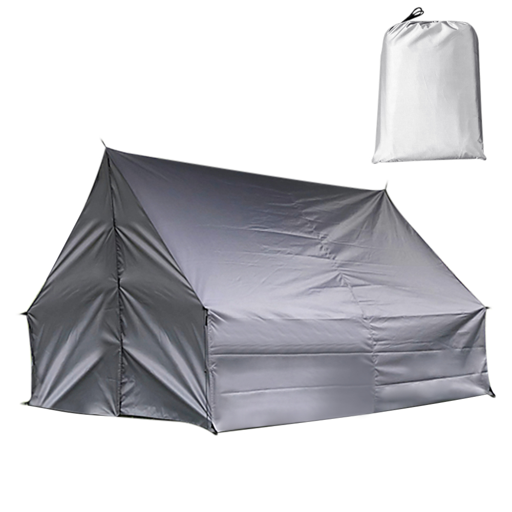 Tente de Camping en plein air hamac multi-fonctionnel changeant abri pluie mouche imperméable bâche Ripstop couverture de pluie voyage randonnée pique-nique