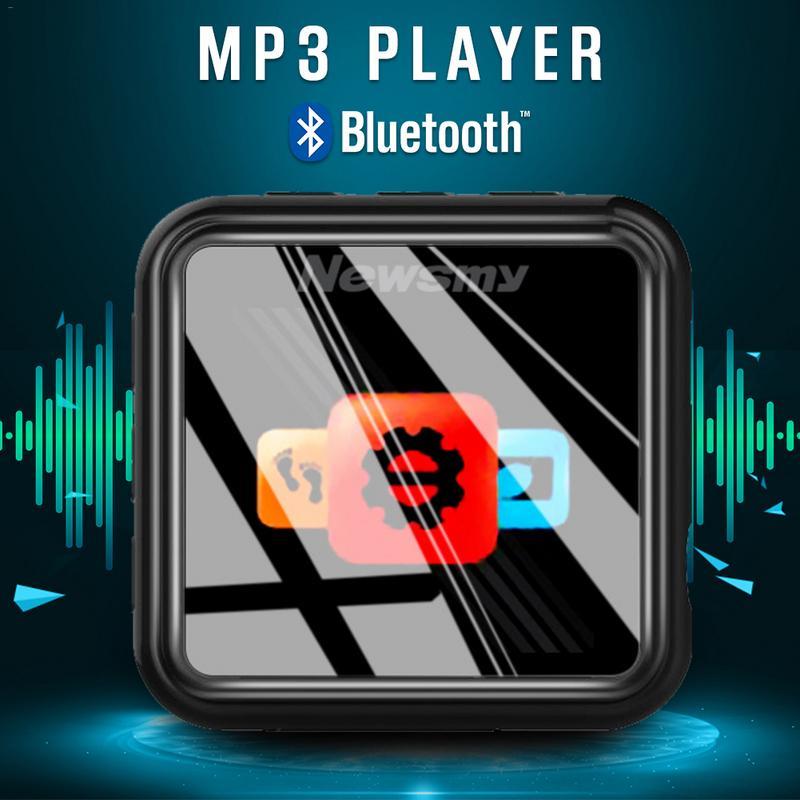MP3Player course sport musique jouant avec fm radio lecteur vidéo Portable métal enregistreur vocal FM Radio podomètre
