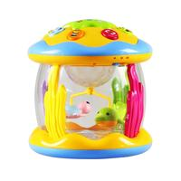 Baby Toddler Kids Musical Aquarium Drum Toy With 3 6 Years Old Lights Home, School, etc Educational Toy