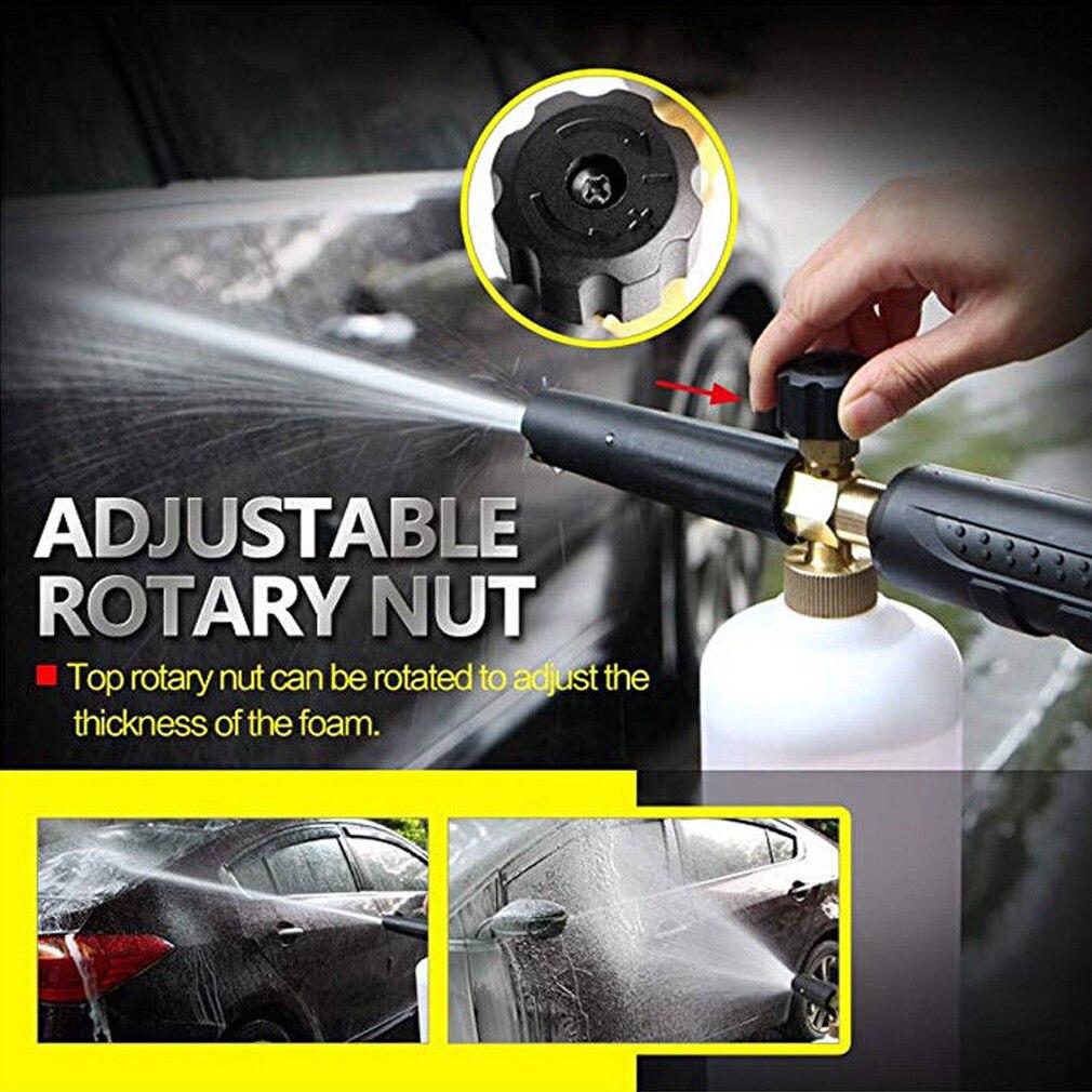 Fahrzeug Reinigung Eimer Auto Washer Spray Düse Tipps Schaum Kanone Lance Professionelle Auto Waschen Gun Werkzeug