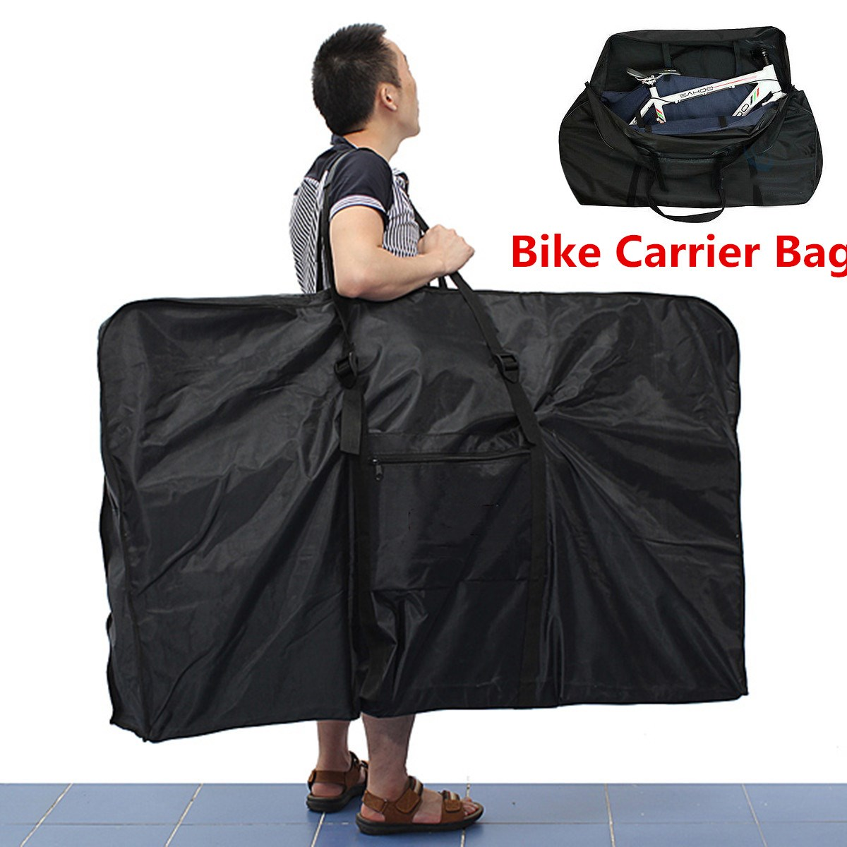 26 Big Folding Bike Carrier Carry Packing Bag Foldable Bicycle Transport Bag Waterproof Loading Vehicle Pouch26 Big Folding Bike Carrier Carry Packing Bag Foldable Bicycle Transport Bag Waterproof Loading Vehicle Pouch