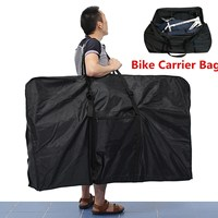 26 Big Folding Bike Carrier Carry Packing Bag Foldable Bicycle Transport Bag Waterproof Loading Vehicle Pouch