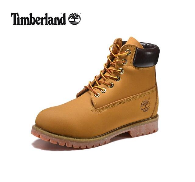 cb30e2195aa TIMBERLAND mujeres clásico de 10061 DE TRIGO otoño amarillo botas de cuero  de mujer de madera