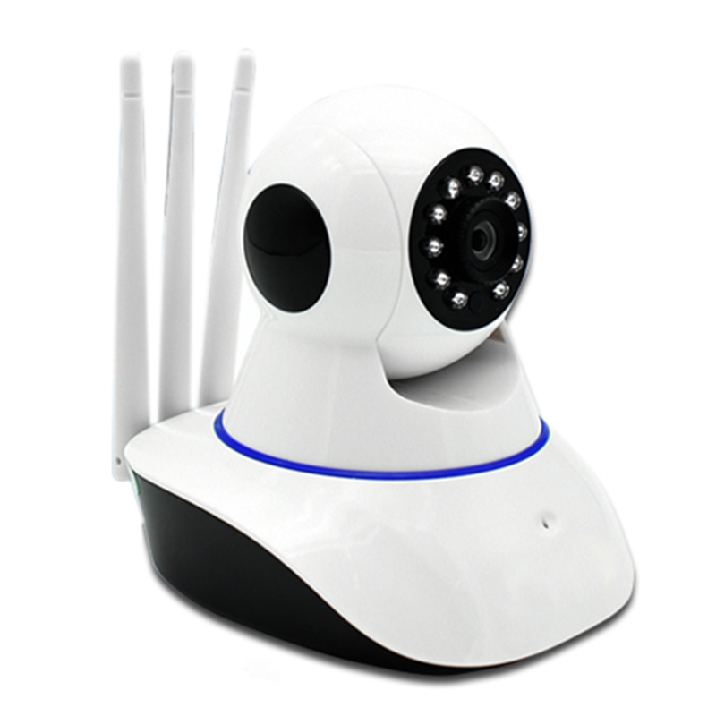 Drei Antennen Sicherheit Kamera <font><b>Hd</b></font> 1080P Video Überwachung Ip-kamera Mini Wifi Cctv Kamera Wi-Fi Home Security Ip Cam image