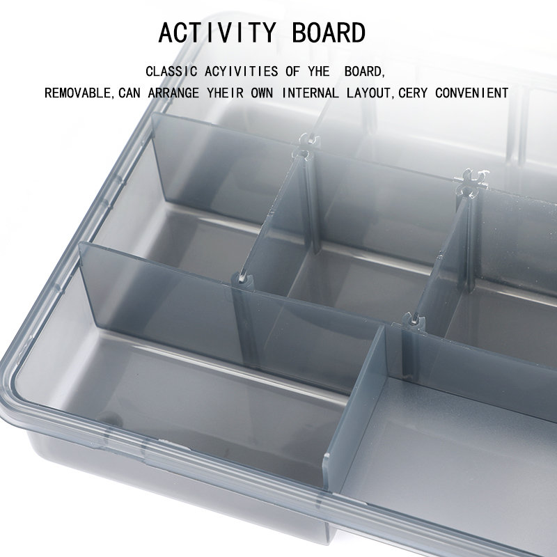 Image 5 - Compartments Waterproof Fishing Tackle Storage Box Multifunctional Eco Friendly Plastic Fishing Lure Tackle Pocket Bait Boxs-in Fishing Tackle Boxes from Sports & Entertainment