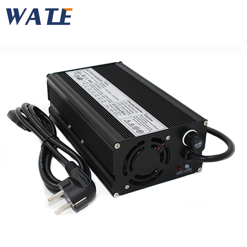 54 6V 8A Charger for 13S 48V Li ion Battery charger aluminum electronic power wheelchair ebike