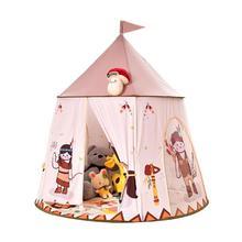 Los niños juegan tiendas de campaña portátil niños caballo de dibujos animados tienda bebé de la casa de juego al aire libre juegos al aire libre juego tienda casa princesa bandera para colgar Castillo