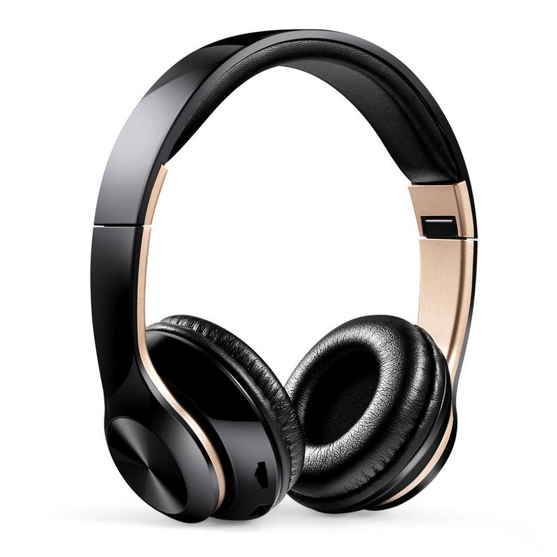 Image 2 - Portable Headphones Wireless Bluetooth Foldable Headset Stereo Hd Hifi Sounds Surrounding Devices With Mic Hands free Calling-in Bluetooth Earphones & Headphones from Consumer Electronics
