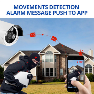 Image 3 - Wetrans sistema de cámara CCTV para exteriores, HD, 4 canales, NVR, Juego de Cámara con Wifi, videovigilancia, cámara IP de seguridad inteligente para el hogar