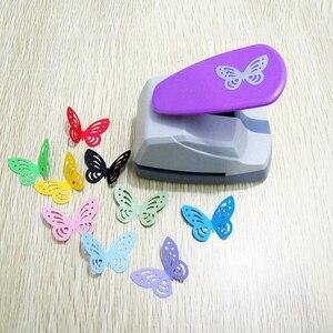 Image 1 - Poinçons de trous papillon à main, grands poinçons en papier, pour poinçons de Scrapbooking, Machine à découper en papier, papeterie de bureau outils de bricolage