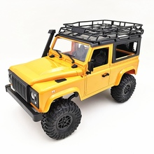 Mn-90 1/12 2.4G 4Wd 15Km/H Rc With Front Led Light 2 Body Shell Rock Crawler Truck Rtr Unisex Remote Control Boys Toys
