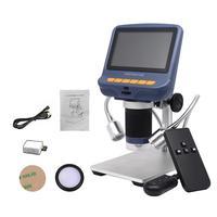 4.3in microscópio usb ajustável durável do microscópio digital do lcd com tela conduzida hd