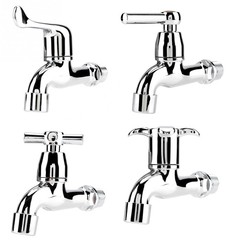 Home Improvement Buy Cheap Bathroom Mop Faucet Tap Washing Machine Faucet Spout Contrl Handle Wall Mounted Torneira Basin Sink Faucets Taps Washer Faucet