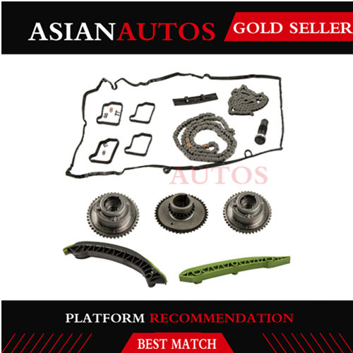 For Mercedes W204 R172 C250 SLK250 Timing Chain /& Tensioner w// Guide Rails