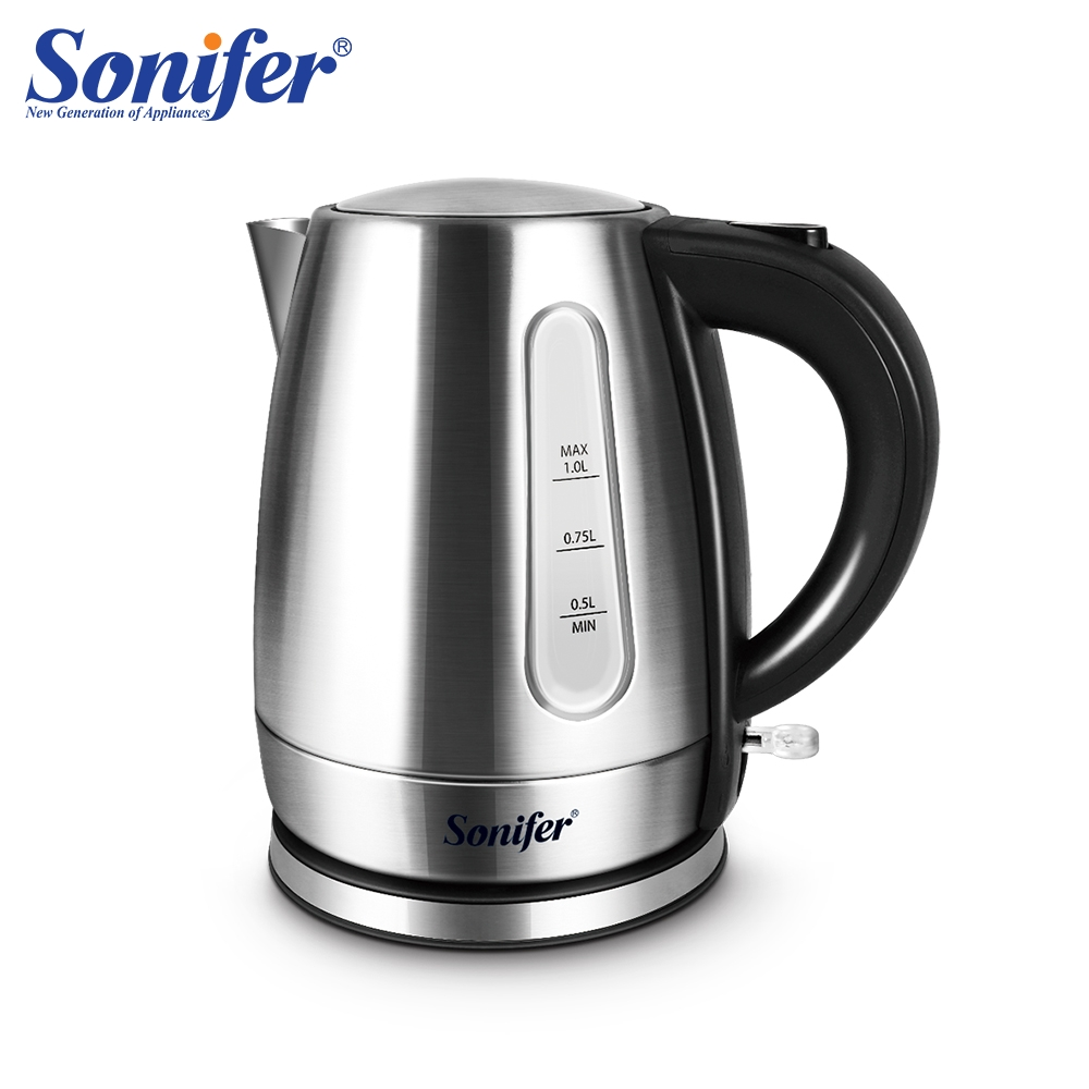 2200W 304 Stainless Steel Electric Kettle 1L Household Kitchen In Fast Water Heating Boiling Tea Pot Sonifer